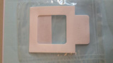 ChraSep Sterile White PTFE sampling template with press 'hold' tab 10cm x 10cm, 10/pk